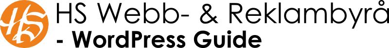 Guide - Uppdatera WordPress